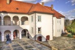 slott gammala croatia Arkivfoton