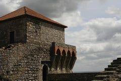 slott gammala portugal Royaltyfria Bilder