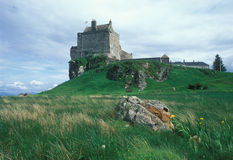 slott gammala scotland Royaltyfri Fotografi