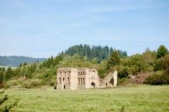 slott gammala slovakia Arkivbild