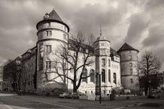 slott gammala stuttgart Royaltyfri Foto