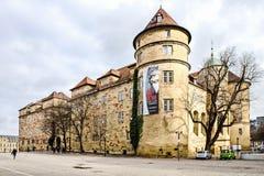 slott gammala stuttgart Royaltyfri Bild