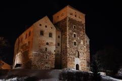 slott gammala turku Arkivbilder