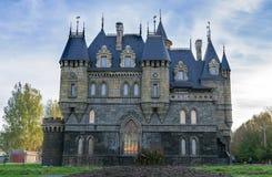Slott Garibaldi för turist- mitt Arkivbild