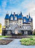Slott Garibaldi för turist- mitt Royaltyfria Foton