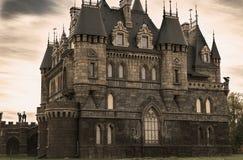 Slott Garibaldi för turist- mitt Royaltyfri Fotografi