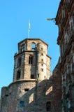 slott germany heidelberg Fotografering för Bildbyråer