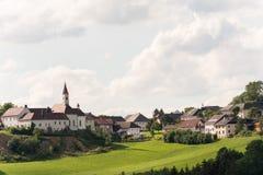 Slott Goetzendorf och läge - Österrike royaltyfri fotografi