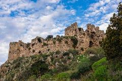 slott greece Arkivbilder