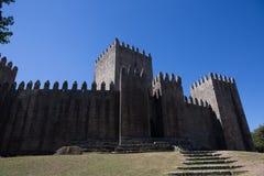 slott guimaraes arkivbilder