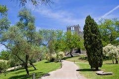 slott guimaraes Arkivbild