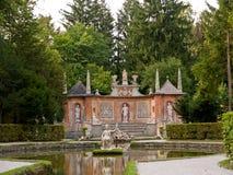 Slott Hellbrunn, Salzburg, Österrike Arkivbilder