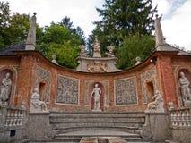 Slott Hellbrunn, Salzburg, Österrike Royaltyfri Bild