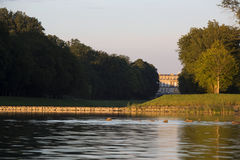 Slott Herrenchiemsee, Bayern Arkivbild