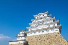 slott himeji japan Arkivbilder