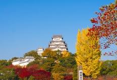 slott himeji japan osaka Royaltyfri Foto