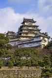 slott himeji majestätiska japan Arkivfoto