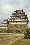 slott himeji majestätiska japan Royaltyfria Bilder