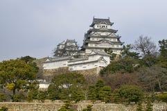 slott himeji majestätiska japan Royaltyfria Foton