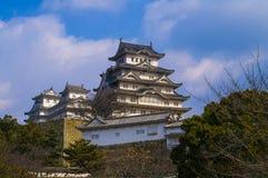 slott himeji majestätiska japan Royaltyfri Foto