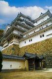 slott himeji majestätiska japan Royaltyfri Fotografi