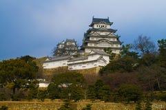 slott himeji majestätiska japan Fotografering för Bildbyråer