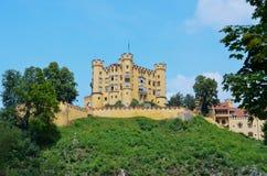 Slott Hohenschwangau, Tyskland 1 Fotografering för Bildbyråer