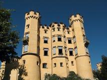 Slott Hohenschwangau, Tyskland fotografering för bildbyråer