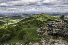 Slott Hohenzollern Royaltyfri Fotografi