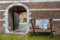 slott holland Arkivbild