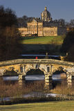 Slott Howard i norr Yorkshire - England Arkivbilder