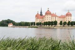 Slott i Östtyskland Arkivfoton
