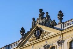 Slott i Bialystok, den historiska uppehållet av den polska magnaten Royaltyfri Bild
