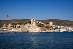 Slott i Bodrum arkivfoton