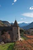 Slott i Bolzano, Italien Arkivfoto