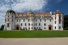 Slott i Celle, Tyskland Arkivfoton