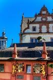 Slott i Darmstadt, Tyskland Royaltyfria Bilder