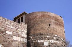 Slott i den Ankara staden kalkon royaltyfri fotografi