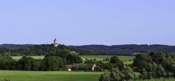 Slott i den ståndsmässiga sidan Arkivbilder