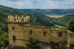 Slott i den tjeckiska republiken Arkivfoton
