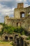 Slott i den tjeckiska republiken Arkivfoto