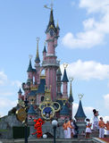 Slott i Disneyland Paris Arkivbild