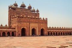 Slott i Fatehpur Sikri royaltyfri foto