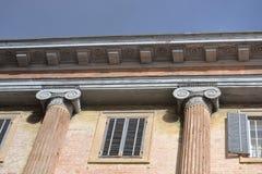 """Slott i Gubbio †""""Italien Arkivfoto"""