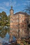 Slott i höst royaltyfria foton