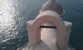 Slott i havet Royaltyfria Foton