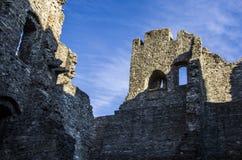 Slott i Hukvaldy Royaltyfria Foton