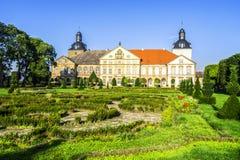 Slott i Hundisburg, Tyskland Arkivfoto