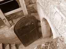 Slott i Kamenetz-Podolsk Arkivfoto