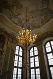 Slott i Ksiaz Royaltyfri Bild